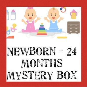 5 lbs Newborn - 24 Months Baby Mystery Box for $15